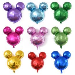 24-zoll-ballons online-24 Zoll Cartoon Ballons Aluminiumfolie Licht Platte Mulit Farben Große Beschichtung Ballon Interessante Weihnachten Liefert Party Dekoration