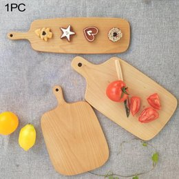 tablas de pasteles Rebajas Cuchillo de madera de cocina tabla de cortar tajadera torta de madera plato de sushi que sirve Bandejas Pan Fruta Bandeja de Pizza Herramienta para hornear MMA2049