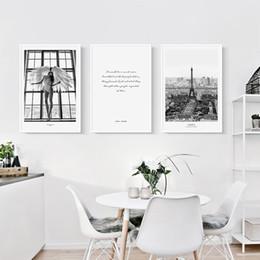 2019 affiches du mur de la tour eiffel Paris, impression sur toile, peinture, affiche nordique, photo murale de la Tour Eiffel pour la décoration de la chambre à coucher affiches du mur de la tour eiffel pas cher