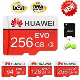Хранилище 128 гб онлайн-Новый Huawei 32 ГБ 64 ГБ 128 ГБ 256 ГБ Карты Памяти Класса 10 Sd Карты USB Флэш-накопитель TF Drive Stick