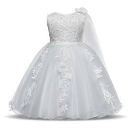 Vestido De Niña Recién Nacida Vestidos De Bautismo Para Niñas 1er Año Fiesta De Cumpleaños De La Boda De La Boda Vestido De Bautizo Ropa Infantil