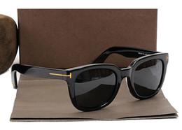 2019 celebridades gafas de sol 211 FT 2019 James Bond Gafas de sol Hombres Diseñador de la marca Gafas de sol Mujeres Super Star Celebrity Driving Gafas de sol Tom para hombres Gafas celebridades gafas de sol baratos