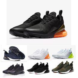 Novas 270 Shoes Sneakers para as Mulheres executando Trainers ar Sports Sneaker Moda Masculina 27c Triplo Max Black Branca Shoes de