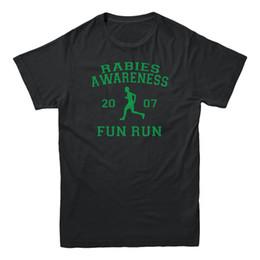 2e5026c38c Rabies Awareness 2007 Fun Run The Office Scott TV Show Sitcom Funny Mens T- shirt Gift Print T-shirt,Hip Hop Tee Shirt,NEW ARRIVAL tees