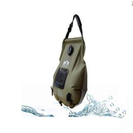 Canada Eau de bain en plein air Portable Sac de baignade en plein air 20L pour randonnées BBQ de voyage Offre