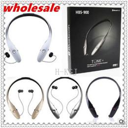 HBS900 HBS-900 Wireless Sport Nackenbügel Headset In-Ear Bluetooth Stereo Kopfhörer Headsets Für LG HBS900 iPhone Samsung von Fabrikanten