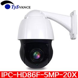 5MP Cámara IP PTZ Al aire libre Onvif 20X ZOOM Mini cámara domo de alta velocidad a prueba de agua H.265 IR P2P 5.0MP CCTV Vigilancia de seguridad desde fabricantes