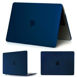 bolsos de cuero negro de china Rebajas Crystal \ Mate Funda para Apple Macbook Air Pro Retina 11 12 13 Bolsa de portátil de 15 pulgadas, Para el nuevo Mac book Air Pro 13.3 Funda A1932 sin paquete al por menor