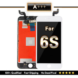 grading panel Promo Codes - Grade A+++ LCD Screen For iPhone 6S Assembly 4.7 Inch Display With Touch Screen Digitizer Strong 3D Touch Replacement & DHL Shipping