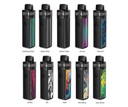 Batteries rs en Ligne-VOOPOO VINCI R Kit Mod Pod 1500mAh Batterie Intégrée Cartouche visible 5,5 ml Vinci avec PnP 0.3ohm 0.8ohm Bobine 100% originale