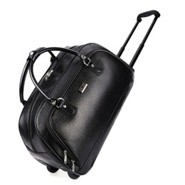 Women s Large-capacity Travel Bag Pu Heavy-duty Rolling Luggage Women s Trolley  Luggage Men s Suitcase Travel Bag with Wheels d760ed40ef1df
