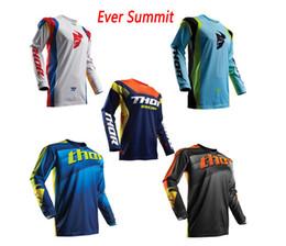 Ciclismo de montaña online-Ciclismo ropa jersey THOR downhill verano ciclismo de manga larga para ciclismo de montaña ciclismo de montaña camisa de campo