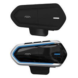 Fones de ouvido para motocicleta on-line-1 Conjunto de Baixo Consumo À Prova D 'Água QTB35 Capacete Da Motocicleta Sem Fio Bluetooth Fones De Ouvido Fone de Ouvido Acessórios Para Fones De Ouvido