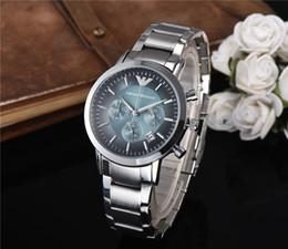 orologio da uomo di lusso orologio da uomo AR orologi da polso di marca orologi sportivi di moda da uomo al quarzo cinturino in acciaio inossidabile da