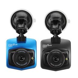 câmera de gravação de vídeo hd cheia Desconto Gt300 Original Mini Câmera Do Carro DVR Dashcamera Full HD 1080 P Gravador de Vídeo Registrator Night Vision ciclo de gravação Traço câmera