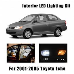 2020 lâmpada de teto 9 lâmpadas brancas Interior LED Car Luz de teto Kit Fit Para 2001 2002 2.003-2.005 Eco Dome Tronco de carga License Plate Lamp lâmpada de teto barato