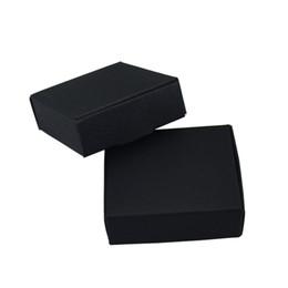 7 * 7 * 2.2 см Черные Бумажные Коробки для Свадьбы Подарочная Упаковка DIY Мыло Ручной Работы Конфеты Пакет Крафт-Бумага Украшение Коробки 50 шт. / Лот 50 шт. / Лот от Поставщики упаковочные коробки для мыла ручной работы