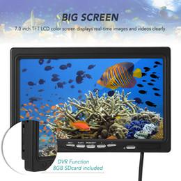 2019 7 lcd monitor Moniteur vidéo à écran couleur LCD 7 pouces avec accessoire de remplacement pour carte mémoire de 8 Go pour caméra sous-marine Fish Finder 7 lcd monitor pas cher