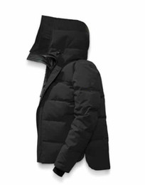 Alta calidad de diseño de marca con capucha hombres abajo abrigo de lujo 86320 espesar abajo chaqueta Canadá camuflaje Parkas de los hombres 7 colores abrigos desde fabricantes