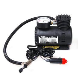 2020 kompressor psi Bewegliches Auto-Auto-Zubehör Durable Fahrzeug Miniluftverdic 300 PSI-Gummireifen-Pumpe 12V Autoteile günstig kompressor psi