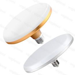 2019 e27 bulbo led 36w Lâmpadas de LED de alumínio UFO 18 W 24 W 36 W Triplo-Anti Alta Brilhante À Prova D 'Água À Prova de Pó À Prova de Poeira Work Shop E27 220 V Dynasty Iluminação DHL e27 bulbo led 36w barato