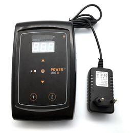 Machine à lèvres de puissance en Ligne-Alimentation de maquillage permanente LCD puissance numérique de tatouage pour les lèvres des sourcils Machine à tatouer rotative Fournitures U-PICK Prise UE ou US