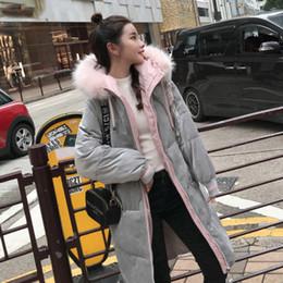 2019 baumwollgefüllter mantel Baumwolle-gepolsterter, mittellanger koreanischer Version mit locker gepolsterter Daunenjacke aus Baumwolle rabatt baumwollgefüllter mantel