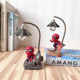 Originalité Figurines Belle Spider Man Comic Night Light Jouets Excellente Guerriers Résine Figurine Ornement Arts Artisanat 12 3hc N1 ? partir de fabricateur
