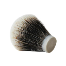 Deutschland 2-Band-Feinst-Dachs-Rasierpinsel (Knotengröße 22 / 65mm) für Mann-Gesichtshaar entfernen Versorgung
