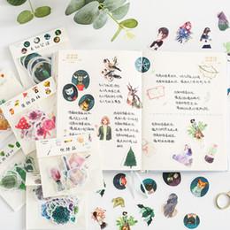 Argentina Original Little Fresh Meng Life emoticon manuscrito bolsa de pegatinas diario DIY material decorativo pegatinas 40 Suministro