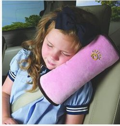 2021 автомобильные подушки для детей Wholesale- Kid Car Pillows Auto Safety Seat Belt Shoulder Cushion Pad Children Protection Support Pillow For Kids Car Pillow JK878183