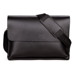 2019 sacs à bandoulière de bureau Hommes Designer Sacs À Bandoulière De Luxe En Cuir PU Sacs À Main pour Business Office Messenger Sacs Promotion Vintage Cross Body Bags sacs à bandoulière de bureau pas cher