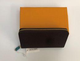 2019 dólar moda designer bolsas Designer de carteira flor grade sacos de designer de caixa única zíper homem das mulheres bolsas designer de luxo bolsas saco carteiras bolsa sacos