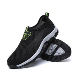Canada Mode Hommes Chaussures Décontractées Slip-on Été Respirant Air Mesh Flats Hommes Chaussures de Sport Mocassins Chaussures Hommes supplier mens summer canvas loafers Offre