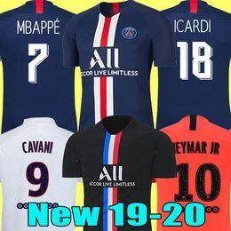 camisetas de futbol maillot Rebajas 19 20 AIR PSG JORDAN camiseta de fútbol 2019 2020 camisa Paris Saint Germain NEYMAR JR MBAPPE soccer jerseys camisa cavani Survetement futebol kit CHAMPIONS camisa de futebol