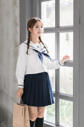 2019 anime abbigliamento Uniforme giapponese cosplay coreano giapponese Imposta Collegio Vento alla moda a maniche lunghe Femminile Anime Costumi Studenti Esecuzione di abbigliamento uniforme anime abbigliamento economici