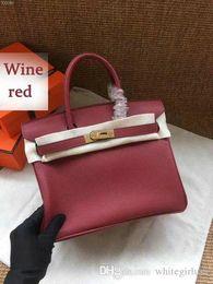 2019 bolsas de vinho 2019 Wine Red Classic Mulheres Designer Bolsas Crossbody ombro clássico do estilo de saco de moda bolsas Totes frete grátis Luxury Bolsa bolsas bolsas de vinho barato
