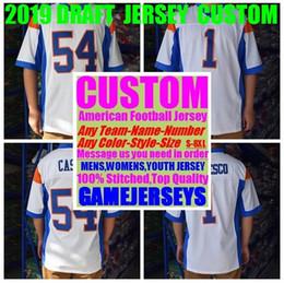 7f221427 Custom american football jerseys college any name number USA ice Hockey  Baseball Basketball Soccer jersey 4xl Baby Youth Womens Mens Kids
