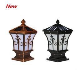 LED Güneş Mesaj Işık Modern Basit Bahçe Işık IP65 Açık Villa Garden Duvar Kapı Pillar villa Lambası Enerji Duvar Işık tasarrufu nereden