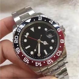 Clavijas de reloj online-2019 reloj de lujo reloj para hombre famoso diseñador de moda día automático hecho ganador 44mm Mens 4 pin dial Cuarzo maestro reloj masculino gmt relogio