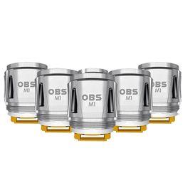 kits de iniciação para vaping Desconto Originais OBS Cubo Da Bobina M1 Malha Bobinas de Cabeça 0.2ohm Resistência para Draco Cubo Starter Kit E Cigarro Vaping tanque DHL Livre