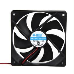 ventilador superred 12v Rebajas Al por mayor-mejor precio 120mm 120x25mm 12V 4Pin DC sin escobillas PC caja de la computadora ventilador de refrigeración 1800PRM