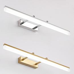 Modernes Badezimmer LED Vanity light Wandleuchte Innenschlafzimmer Schwarz Silber Gold Wandspiegel Beleuchtung Wandleuchte Wandleuchten von Fabrikanten