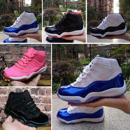 25f26c0badeb5 chaussures nouveau-né bébé garçon Promotion Nike Air Jordan 11 Chaussures  de basketball pour enfants