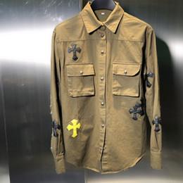 grüne lederjacke herren Rabatt Herren Jacke Armee Green Cross-Lederjacke sizeSMLXLWSJ035 Fashion Joker