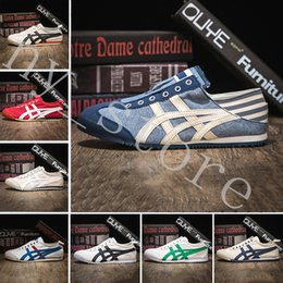 Stivali mens atletici online-2019 New ASICS Onitsuka Tiger Casual Shoes For Men Women Athletic Outdoor Boots Brand Sports Mens Chassures Designer Shoe Size 36-44