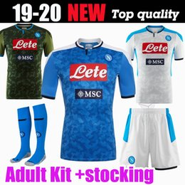 2019 napoli jersey 2019 20 Napoli Camiseta De Fútbol Neapel Heim Auswärts 3. Trikots Serie A Napoli Trikots 19 20 HAMSIK L.INSIGNE PLAYER Trikot rabatt napoli jersey
