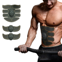 2020 maschine schlanke shaper Hot Sale-Muskelstimulator Körper schlank Shaper-Maschine Bauchmuskeln Exerciser Training Fat Burning Bodybuilding Fitness Massage günstig maschine schlanke shaper