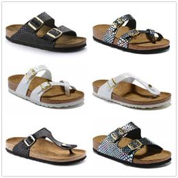 Argentina Sirena Mayari Arizona Gizeh 2019 verano Hombres Mujeres sandalias planas Zapatillas de corcho Unisex zapatos casuales impresión colores mezclados Moda Pisos US3-15 Suministro