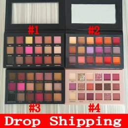beste lidschatten make-up marke Rabatt Drop Lidschatten-Palette Schönheit 18 Farben Schatten-Palette ePacket freies Verschiffen